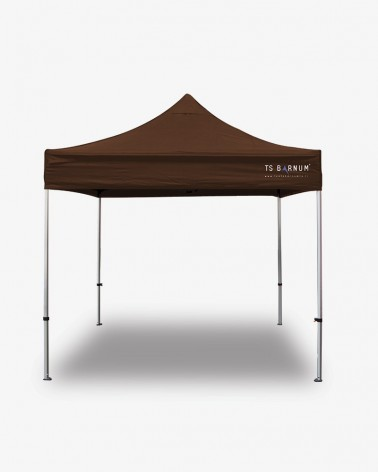 barnum aluminium 45 3m x 3m havane - barnum pro pas cher - tente de marché