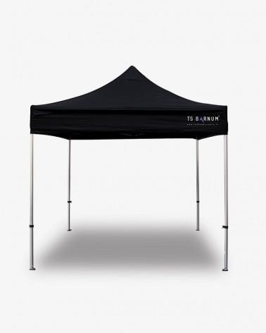 barnum - barnum aluminium 45 3m x 3m noir - tente pliante pro