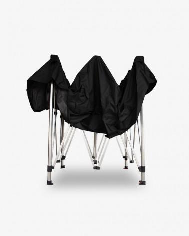 barnum plié - barnum aluminium 45 3m x 3m noir