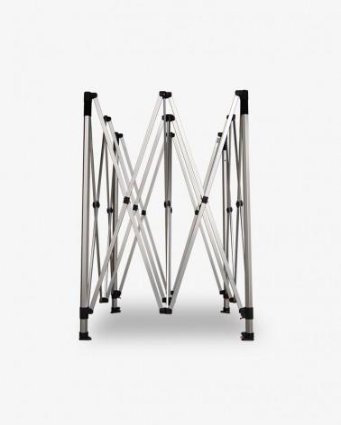 structure aluminium 45 3m x 3m noir