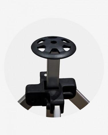 """""""F"""" Jonction mat central (ø 45) pour barnum aluminium 45 3m x 3m noir"""