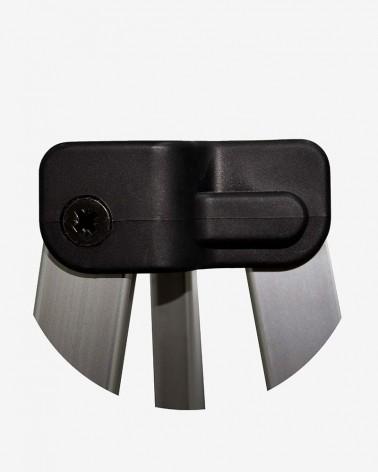 """""""H"""" T de croisillon (ø 45) pour barnum aluminium 45 3m x 3m noir"""