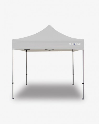 barnum aluminium 45 3m x 3m blanc - barnum pliante pro 40mm - barnum pas cher