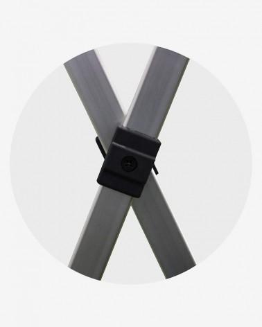"""""""C"""" Croisillon (ø 45) pour barnum aluminium 45 2m x 3m vert"""