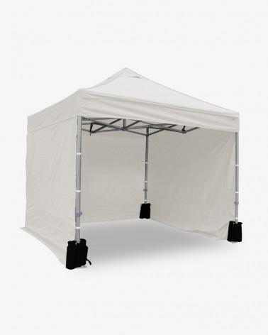 Côté latéral blanc de 3m opaque PVC - 320gr/m² - Mobilier pliant