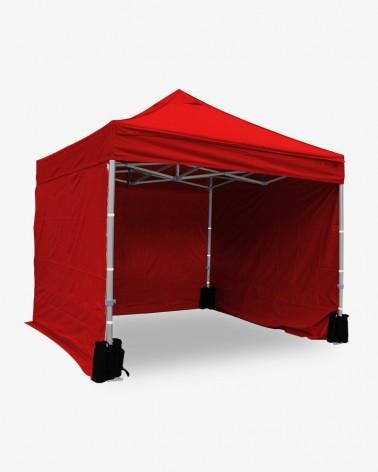 Côté latéral rouge 2,5m opaque polyuréthane - 500D - Mobilier pliant à prix mini